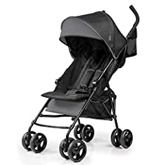 The Summer 3Dmini Convenience Stroller is lightweight, durable and full of premium features for you and your little one. The 11-pound stroller is mini, but mighty with its stylish black frame, compact fold, storage pouch and dual cup holders....