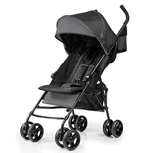 - Summer Infant 3D Mini Convenience Stroller, Gray