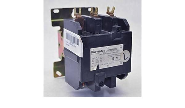 Furnas 42GE35AF307R Definite Purpose Contactor 112A 240V 3 Pole Series D