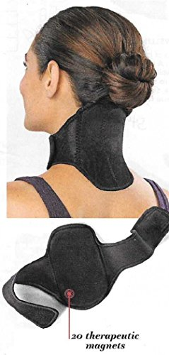 Medic Inflatable Air (Trenton Gifts Magnetic Neck Wrap | Black)