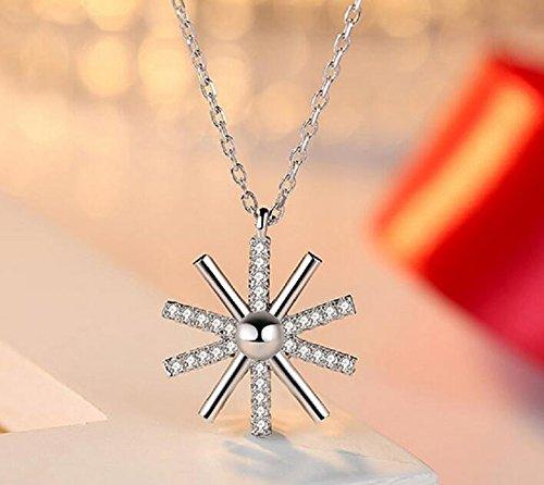 Sun flower temperament ladies chain necklace clavicle