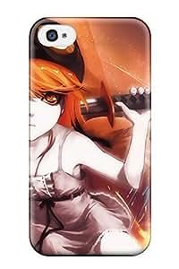 New Style bakemonogatari oshino shinobu anime Anime Pop Culture Hard Plastic iPhone 4/4s cases WANGJING JINDA