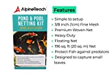 AlpineReach Koi Pond Netting Kit 14 x 14 Feet