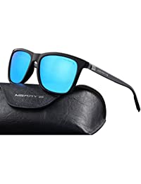 9a95a55618 Unisex Polarized Aluminum Sunglasses Vintage Sun Glasses For Men Women S8286
