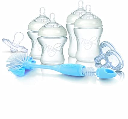 Nuby SoftFlex NTNV3-67424 - Set para recién nacido (incluye 2 ...