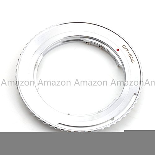 Pixco Lens Adapter for C/Y CY Contax Yashica Lens to Canon EOS EF Adapter 5D Mark II 7D 70D 60D 600D 550D 450D