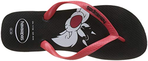 Black para Adulto Multicolor Unisex Havaianas Chanclas Looney Red Tunes q0Hx4t