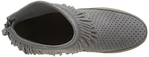 Shoe Fringes Baskets Femme Bear The grey Basses Emmy Gris TArTSnH
