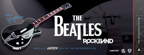 The Beatles: Rock Band PS3 Wireless Gretsch Duo-Jet Guitar Controller