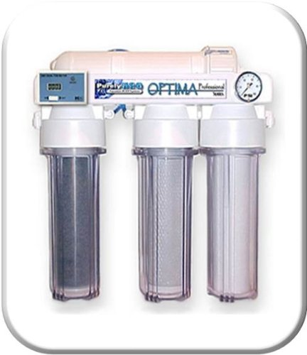 Optima Water - Optima Wholesale Lot of 4 Professional RO/DI Aquarium 75 GPD Reverse Osmosis Water Filter System