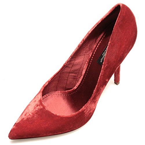 Rouge Decollete Scarpa Women Gabbana 79100 amp;G Bellucci D velluto amp; Shoes Donna Dolce Bgp7S7