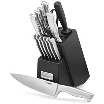 Cuisinart C77SS-15PK 15-Piece Stainless Steel Hollow Handle Block Set