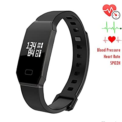 Newyes NBS07 & NBS02 Bluebooth Smart Watch Fitness Tracker Blood Pressure Monitor Heart Rate Monitor Sleep monitor Smart Bracelet …