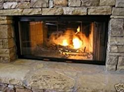 "Superior or Lennox Replacement Prefab Fireplace Glass doors 42"" by EZ Door"