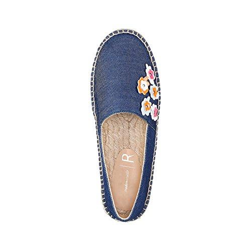 La Redoute Mademoiselle R Frau Espadrilles, Blumendetail Gre 39 Blau