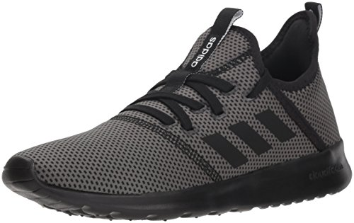 adidas Performance Women's Cloudfoam Pure Running Shoe, Black/Black/Grey, 8 M US