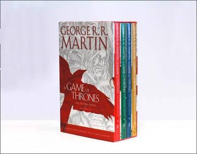 A Game of Thrones: Volumes 1-4 : The Graphic Novels Volumes 1-4(Hardback) - 2016 Edition