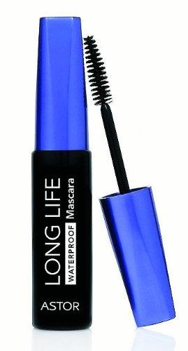 Astor Long Life Mascara Waterproof, Farbe 800 Black, 1er Pack (1 x 10 ml)