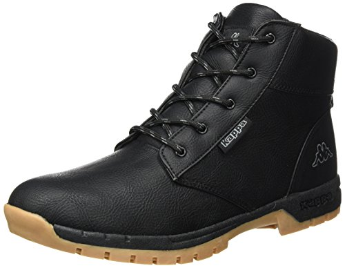 Kappa Cammy Teens, Bottes Rangers Mixte Adulte, Noir (1116 Black/Grey), 41 EU