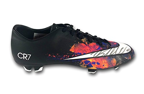 Victory Icon (CRISTIANO RONALDO SIGNED NIKE MERCURIAL VICTORY V CR7 CLEAT COA ICONS BOOT BLACK)