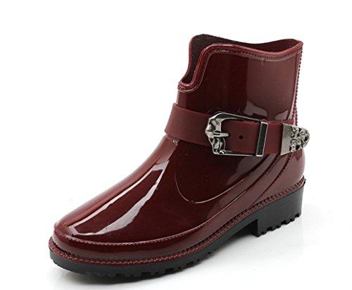 共和国オリエンタルディスカウントYFS レディース レインシューズ ショート雨靴 レインブーツ オシャレ 雨の日晴れの日兼用 快適 防水 耐滑 可愛い