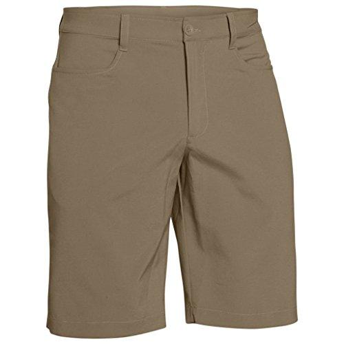 Under Armour Men's Leaderboard Golf Shorts, Canvas (254)/Canvas, 36