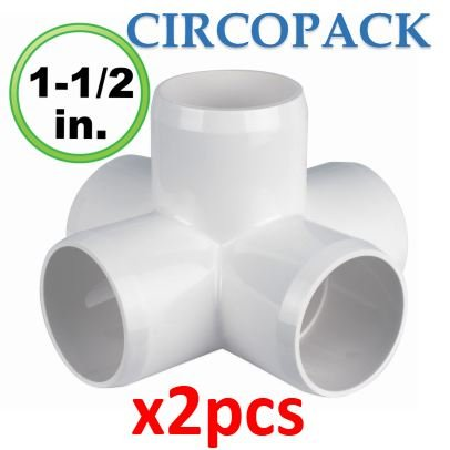 5 Way Connector (CIRCOPACK 5 way X cross – 1½ inch fitting connectors for 1½