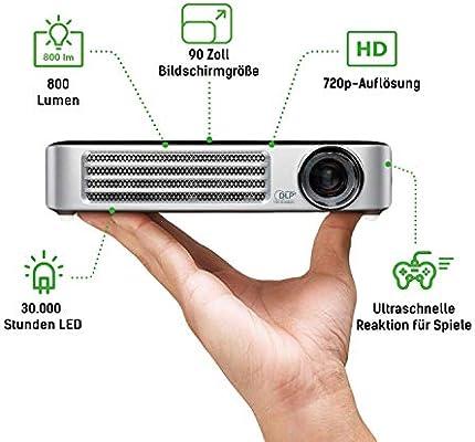 """Vivitek Qumi Q6 - Data projectors (16:10, 762-2286 mm (30-90""""), AC, 16:10, 1-3 m, 30000:1): Projectors: Amazon.com.au"""