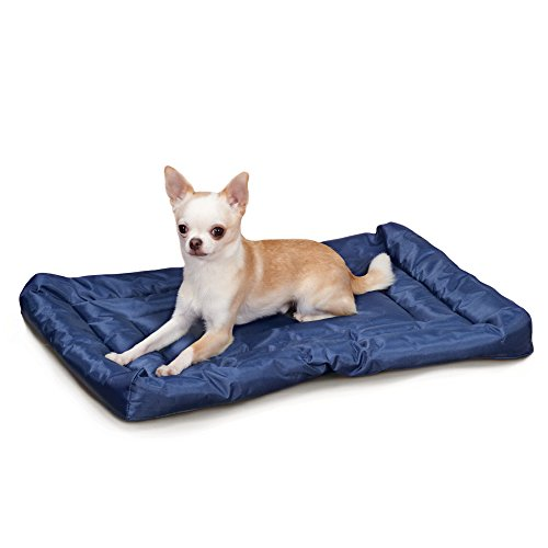 Dog Water Blanket Resistant - Slumber Pet Water-Resistant Beds  -  Comfortable and Durable Nylon Beds for Dogs and Cats - Large, Royal Blue