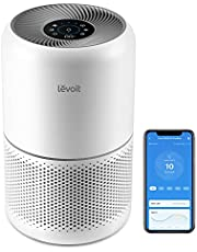 LEVOIT Air Purifiers for Home Bedroom, H13 True HEPA Filter for Large Room, Dust, Allergies, Pets, Smoke, Smart WiFi, Alexa and Google Enabled, Air Cleaners for Office, Quiet Auto Mode, 22dB, 300S