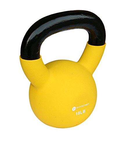 GYMENIST Kettlebell Fitness Weights Neoprene