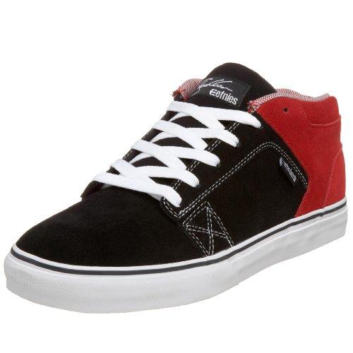 Etnies Homme Sheckler 4 Chaussure De Skate Noir / Rouge / Blanc