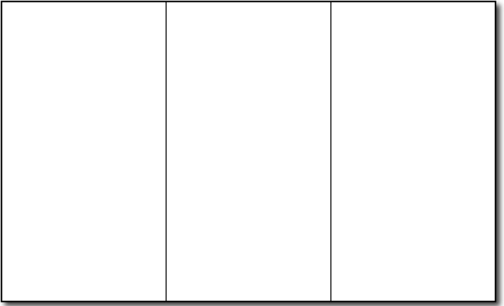 8 1/2'' x 14'' White Brochure Paper - 250 Brochures