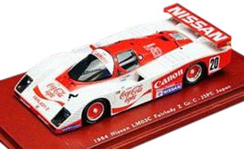 1/43 ニッサン LM03C フェアレディZ Gr.C 1984 JSPC JAPAN #20 コカ・コーラ ライト TSM104317