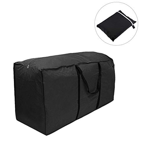 Storage Furniture 123 - Wind-Susu Furniture Cushion Storage Bag Multi-Function Storage Bag for Outdoor and Home (Black,S/M/L)