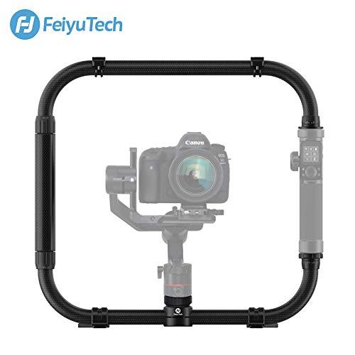 FeiyuTech Carbon Fiber Dual Handle Grip Video Rig Stabilizer Cage Kit for Feiyutech Feiyu AK2000 AK4000 Gimbal