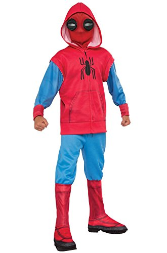 (Rubie's Spider-Man: Homecoming, Child's Deluxe Homemade Suit Costume,)