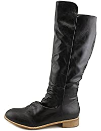 Womens RUE Round Toe Knee High Fashion Boots, Black, Size 8.0