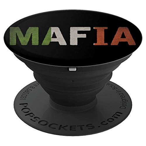 Mafia Halloween Couples Costume  PopSockets Grip and Stand for Phones and Tablets ()