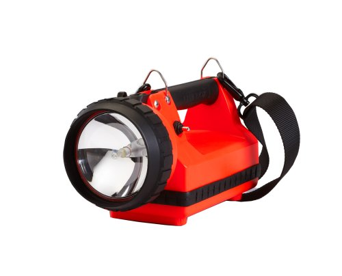 Streamlight 45301 Firebox Standard System Searchlight with Dual Rear LEDs without Charger, Orange