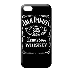 iphone 5 5s phone back shell Scratch-proof covers protection style jack daniels