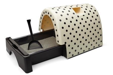 Kitty-A-GoGo-Cat-Litter-Box-Polka-Dot