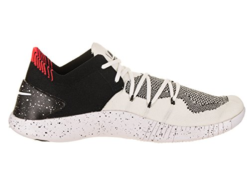 Wmns Running Free Nike Donna Flyknit White 100 Scarpe TR Black 3 Bianco UaHdqw
