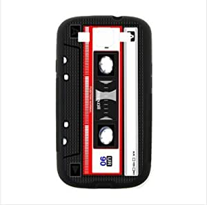 Best Seller Case - Classical CD Magnetic Tape Pattern Samsung Galaxy S3 I9300 TPU (Laser Technology) Case, Cell Phone Cover