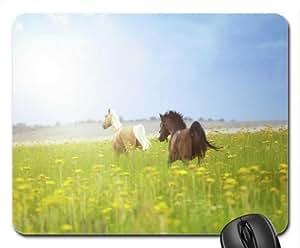 Horse freedom Mouse Pad, Mousepad (Horses Mouse Pad)