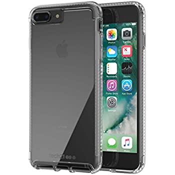 b4c075415e5ade Amazon.com: Pure Clear Case for Apple iPhone 7+/8+ -: Cell Phones ...