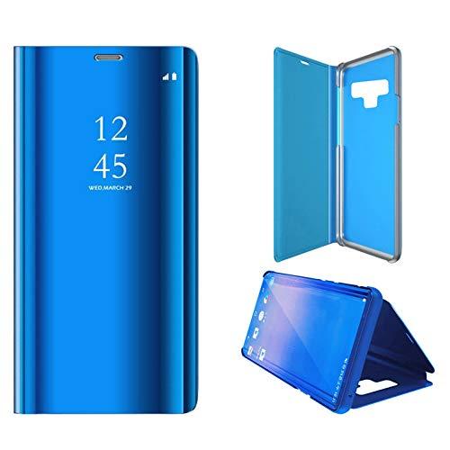 Ldea Funda para Samsung Galaxy Note 9 2018, con función de espejo, de pie, cubierta de poliuretano + policarbonato, lujosa,...