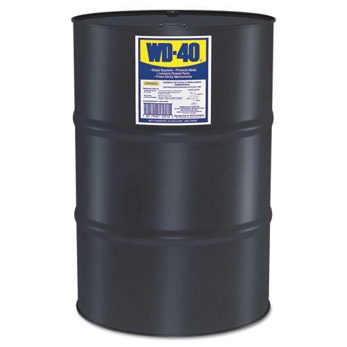 WD-40 Heavy-Duty Lubricant, 55 Gallon Drum - Includes one drum. by WD-40