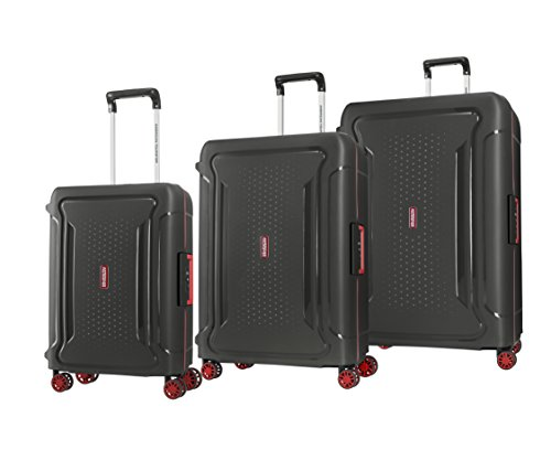 American Tourister Tribus Hardside Luggage with Dual Spinner Wheels
