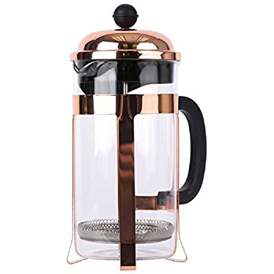 Wyndham House™ 33.8 Ounce (1000 milliliter) Copper Colored French Press Coffee Maker